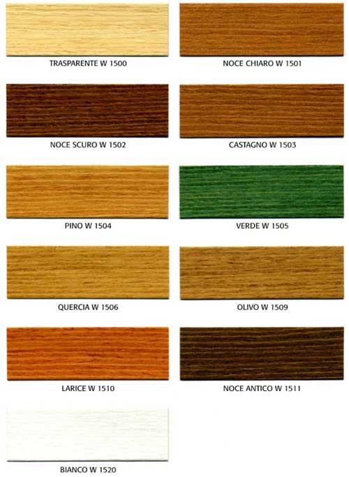 Legno larice colore